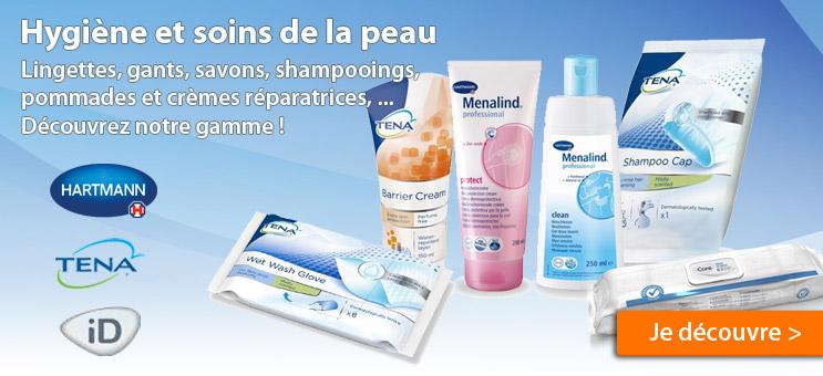 Voir les produits hygiène et soins de la peau